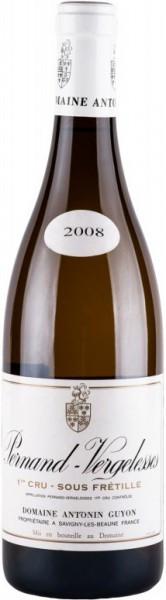 Вино Pernand-Vergelesses 1-er Cru Sous Fretille AOC 2008
