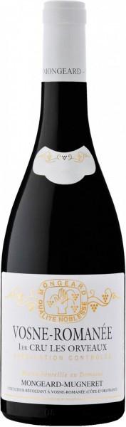 """Вино Domaine Mongeard-Mugneret, Vosne-Romanee 1-er Cru """"Les Orveaux"""" AOC, 2008"""