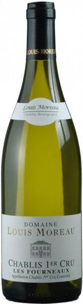 """Вино Domaine Louis Moreau, Chablis Premier Cru """"Les Fourneaux"""", 2014"""
