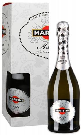 Игристое вино Asti Martini, in box