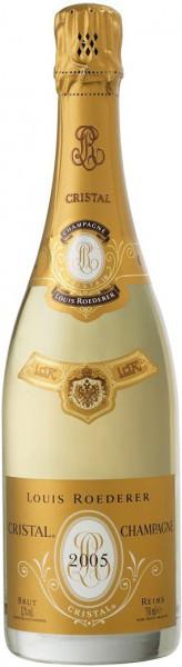 """Шампанское """"Cristal"""" AOC, 2005"""