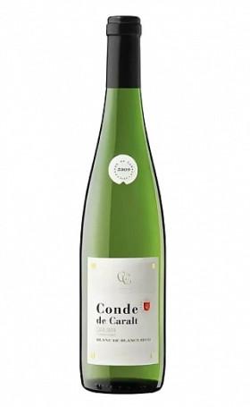 Игристое вино Conde de Caralt Blanс de Blanс 2016 0.75л