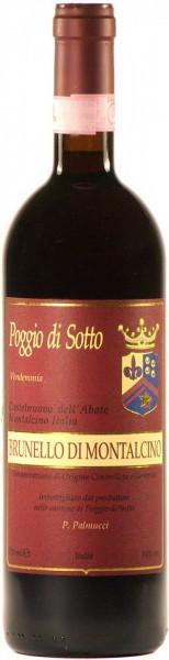 Вино Poggio di Sotto, Brunello Di Montalcino, Vendemmia Castelnuovo dell'Abate, 2012