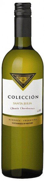 "Вино Santa Julia, ""Coleccion"" Chenin Chardonnay, 2012"
