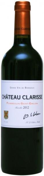 """Вино """"Chateau Clarisse"""", Puisseguin-Saint-Emilion AOC, 2012"""