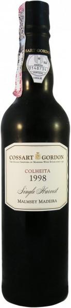 Вино Cossart Gordon, Colheita Malmsey, 1998, 0.5 л