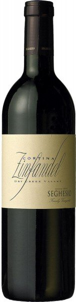 "Вино Seghesio, ""Cortina"" Zinfandel, 2009"