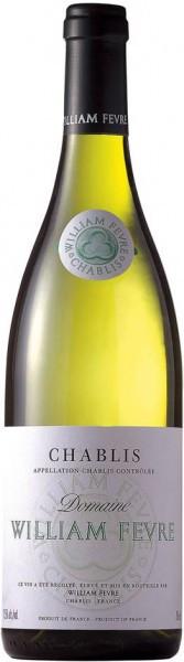 Вино Domaine William Fevre, Chablis, 2015