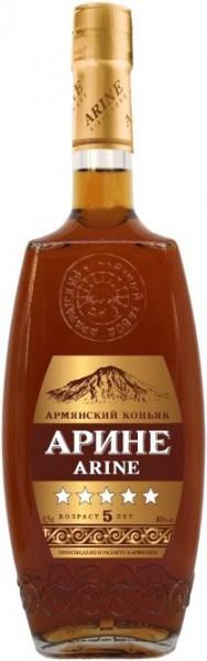 Коньяк Arine 5 stars, 0.5 л