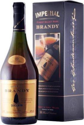 "Бренди Sandeman, ""Imperial"" Solera, gift box, 0.7 л"