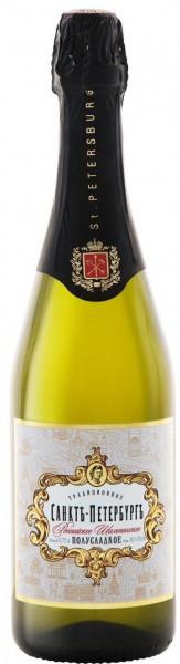 "Игристое вино ""Saint-Petersburg Traditional"", Demi-Sweet"