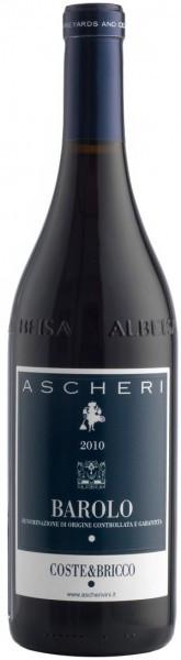 "Вино Ascheri, Barolo ""Coste & Bricco"" DOCG, 2010"