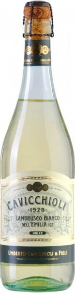 Игристое вино Cavicchioli, Bianco da Lambrusco