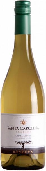 "Вино Santa Carolina, ""Reserva"" Chardonnay, Valle de Casablanca DO, 2012"