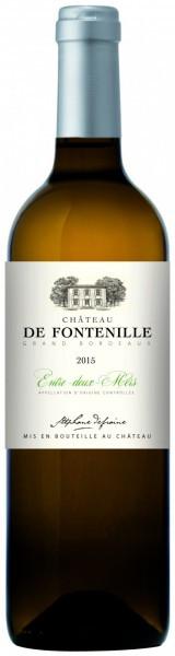 """Вино """"Chateau de Fontenille"""" Blanc, Bordeaux AOC, 2015"""