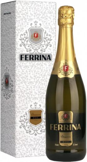 "Игристое вино Morando, ""Ferrina"" Prosecco DOC Brut, gift box"