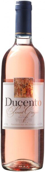 """Вино """"Ducento"""" Pinot Grigio Rose delle Venezie IGT, 2015"""