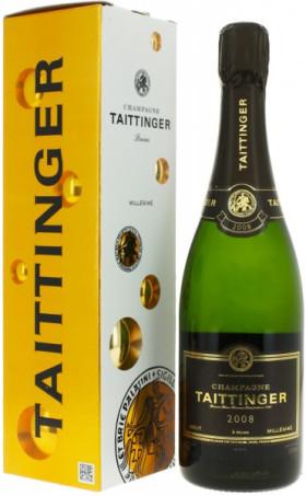 Шампанское Taittinger, Brut Millesime, 2008, gift box