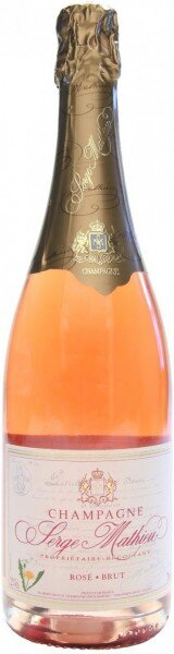 Шампанское Champagne Serge Mathieu, Brut Rose