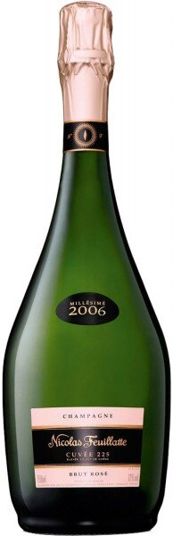 "Шампанское Nicolas Feuillatte, ""Cuvee 225"" Brut Rose, 2006"