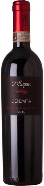 """Вино Ca'Rugate, """"L'Eremita"""", Recioto della Valpolicella, 2012, 0.5 л"""