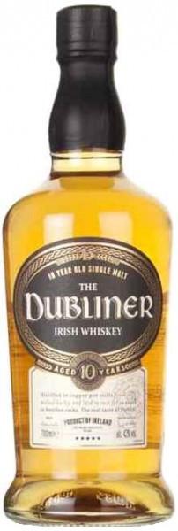 "Виски ""The Dubliner"" 10 YO Single Malt Irish Whiskey, 0.7 л"