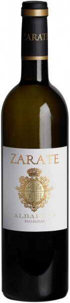 Вино Zarate, Albarino, Rias Baixas DO, 2012