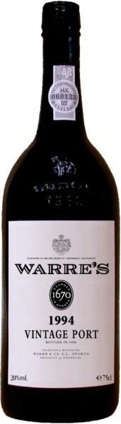 Вино Warre's, Vintage Port, 1994, 0.375 л