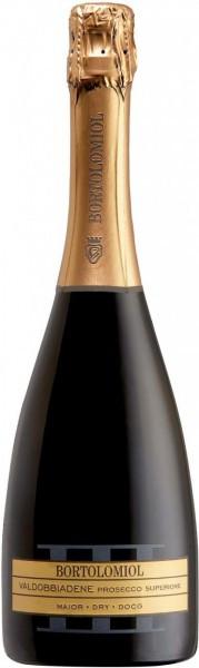 """Игристое вино Bortolomiol, """"Maior"""" Dry, Valdobbiadene Prosecco Superiore DOCG"""
