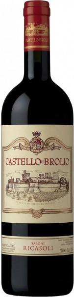 """Вино """"Castello di Brolio"""", Chianti Classico DOCG, 2010"""