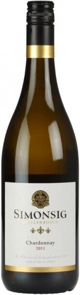 Вино Simonsig, Chardonnay, 2011