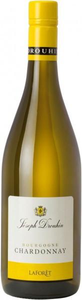 "Вино ""Laforet"" Bourgogne Chardonnay AOC, 2014, 0.375 л"