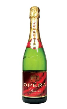 Игристое вино Opera Blanc de Blancs Demi-Sec 0.75л