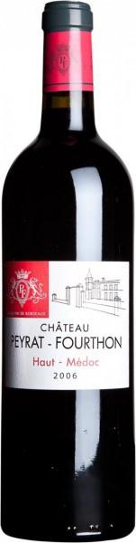 Вино Chateau Peyrat-Fourthon, Haut-Medoc AOC, 2006