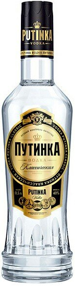 Водка Putinka Classic, 0.5 л