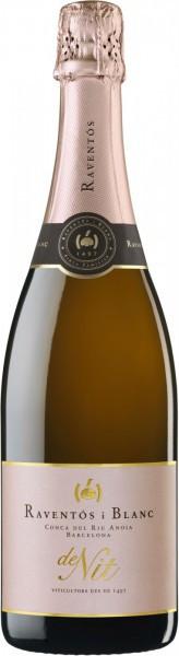 """Игристое вино Raventos i Blanc, """"De Nit"""" Brut Rose, 2013"""
