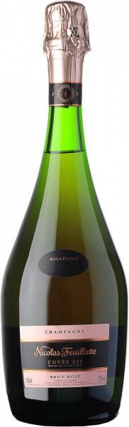 "Шампанское Nicolas Feuillatte, ""Cuvee 225"" Brut Rose, 2008"