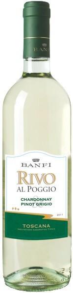 "Вино Castello Banfi, ""Rivo al Poggio"" Bianco, Toscana IGT, 2015"