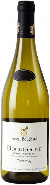 "Вино Pascal Bouchard, Bourgogne ""Cotes d'Auxerre"" AOC Chardonnay, 2012"