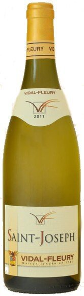 Вино Vidal-Fleury, Saint-Joseph AOC Blanc, 2011
