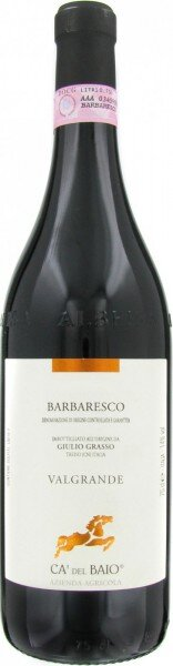"Вино Ca'del Baio, Barbaresco DOCG ""Valgrande"", 2012"