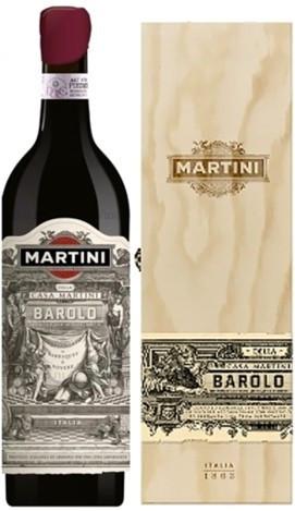 "Вино ""Martini"" Barolo DOCG, wooden box"