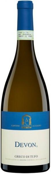 """Вино Antonio Caggiano, """"Devon"""", Greco di Tufo DOCG, 2015"""