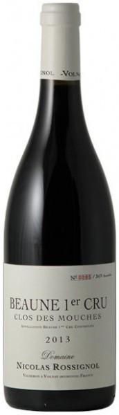 "Вино Domaine Nicolas Rossignol, Beaune Premier Cru ""Clos Des Mouches"" AOC, 2013"