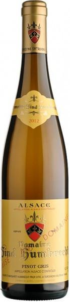 Вино Zind-Humbrecht, Pinot Gris, Alsace AOC, 2014