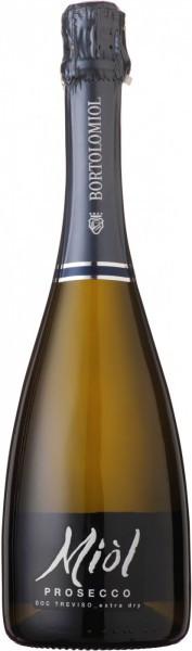 "Игристое вино Bortolomiol, ""Miol"" Prosecco Extra Dry, Treviso DOC"