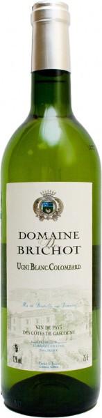 Вино Domaine de Brichot, Cotes de Gascogne VdP, 2010