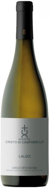 """Вино Baglio del Cristo di Campobello, """"Laluci"""", Sicilia DOC, 2012"""