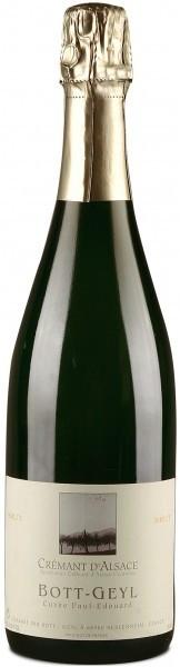 Игристое вино Cremant d'Alsace AOC Brut Cuvee Paul Edouard
