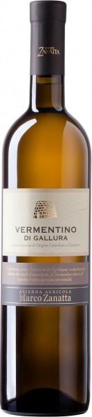 Вино Vigneti Zanatta, Vermentino di Gallura DOCG, 2014